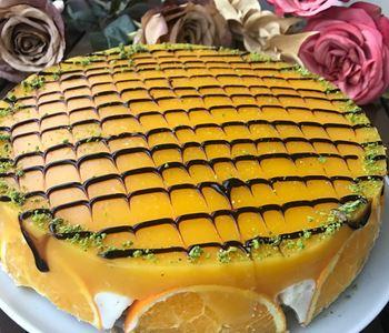 Portakallı Limonlu ve Mandalinalı Pasta